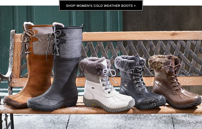 Shop women's cold weather boots
