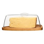 Oval Oak Cheese Cup