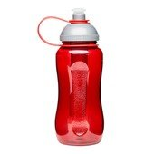 Picnic Bottle w. Ice bolt, Red