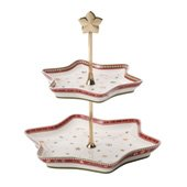 Winter Bakery Delight Tray Stand