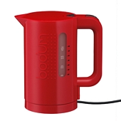 BISTRO Electric Water Kettle 1 L, Red