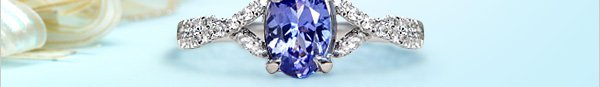 Masterpieces New!  Stunning Tanzanite for this holidays