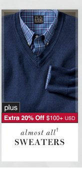 Sweaters - 66% Off* plus Extra 20% Off