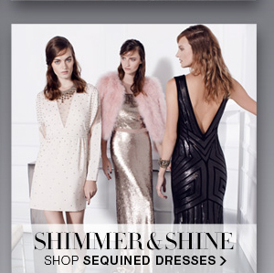 SHOP SEQUINED DRESSES