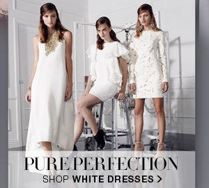 SHOP WHITE DRESSES