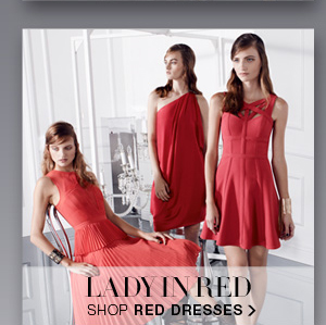 SHOP RED DRESSES