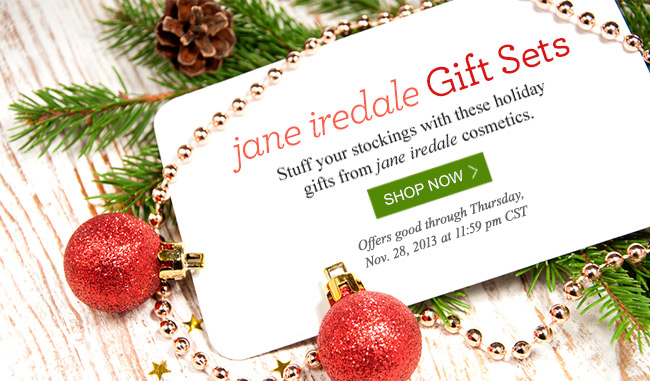 Shop jane iredale's Holiday Gift Guide!