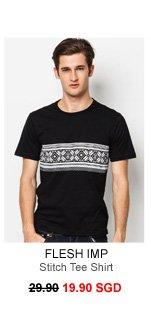 Flesh Imp Flmp Tee Stitch Tee Shirt