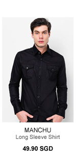 Manchu Long Sleevs Shirt with Chest Pocket