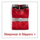 sleepwear and slippers