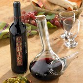 Porron Pitcher and Codice Wine