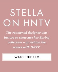 The renowned designer was instore to showcase her Spring collection - go behind the scenes with HNTV