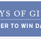 Give Beautifully - 25 Days of Giving Facebook Giveaway - Enter Now