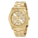 Invicta 1774 Men's Pro Diver Gold Tone Stainless Steel Chronograph Dive Watch