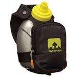 Nathan 4836NB QuickShot Plus Hydration Handheld Bottle Carrier Pack, Black
