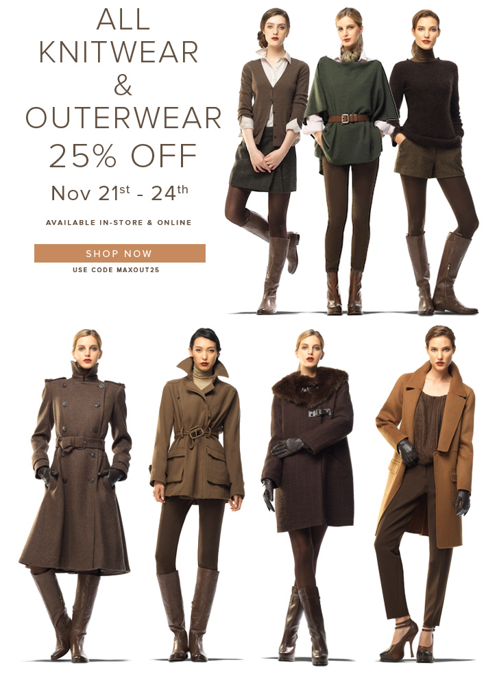 Knitwear and Outerwear