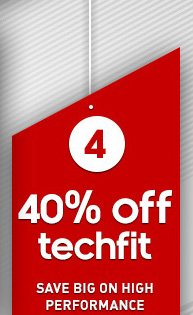 Shop TECHFIT Sale »