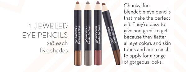 Jeweled Eye Pencils