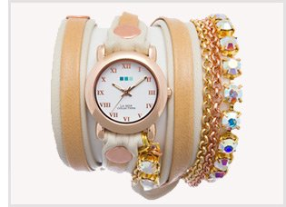 Rainbow St. Tropez Wrap Watch