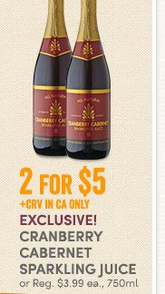 4 Days Only - Savings on Caviar & Cavier Sets, World Market Italian Sparkling Water & Cranberry Cabernet Sparkling Juice (In Store Only)
