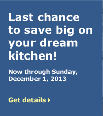 Last chance to save big on your dream kitchen!