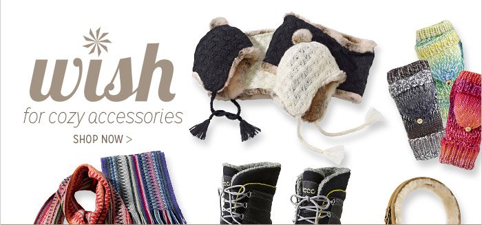 wish for cozy accessories | SHOP NOW