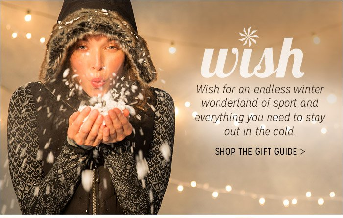 wish | SHOP THE GIFT GUIDE