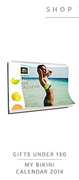 Gifts Under $30 - RIP CURL MY BIKINI CALENDAR 2014