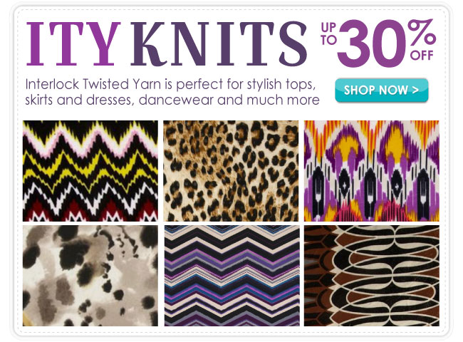 Up to 30% Off ITY Knits