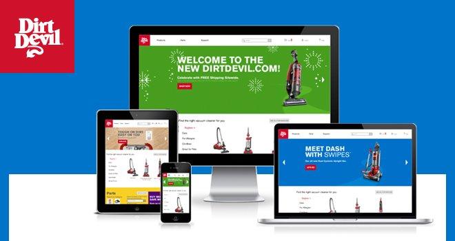 Visit the NEW DirtDevil.com