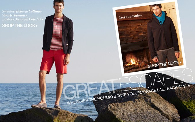 Great Escapes Beach Holiday Shop The Look Men