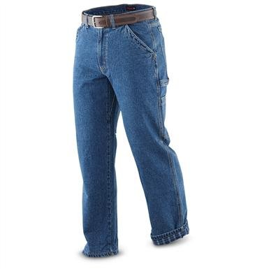 Wolverine® Flannel-lined Jeans