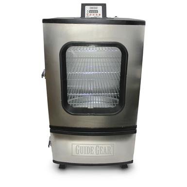 """Guide Gear® 30"""" Electric Stainless Steel Smoker"""