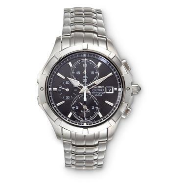 Seiko® Coutura Chronograph Watch