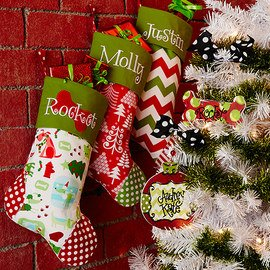 Ornaments & Stockings: Personalized