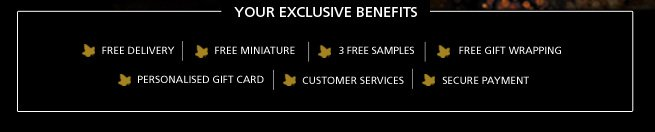 Your Exclusive Benefits
