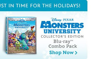 Monsters University Blu-ray Combo Pack | Shop Now