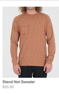 Stand Not Sweater
