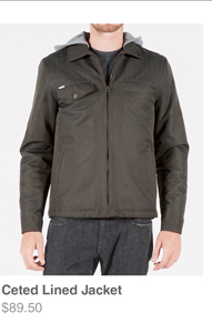 Ceted Lined Jacket