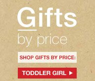 Gifts by price | SHOP GIFTS BY PRICE: TODDLER GIRL