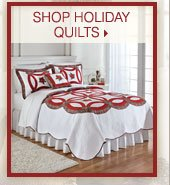 Shop holiday quilts.