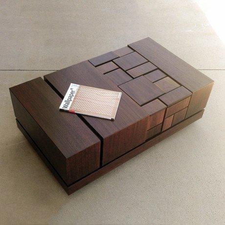 Abaci Walnut // Coffee Table