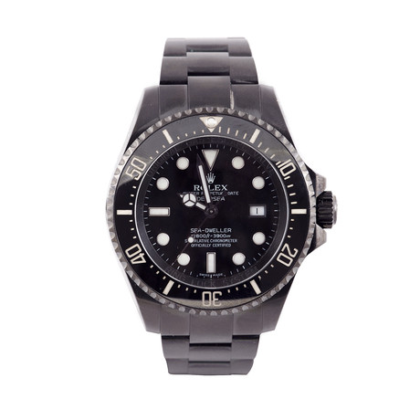 Rolex Deepsea Black PVD Steel // c. 2009-2010