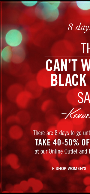 THE CAN'T WAIT FOR BLACK FRIDAY SALE. TAKE 40-50% OFF WOMEN'S SWEATERS