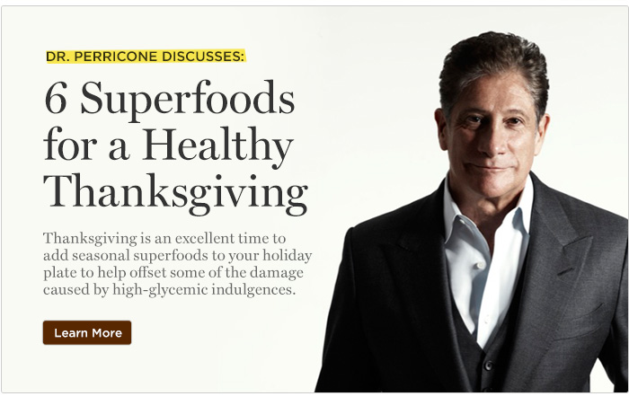 5 Superfoods for a Healthy Thanksgiving