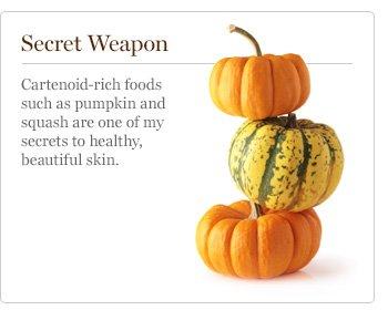Secret Weapon - Cartenoid-rich foods