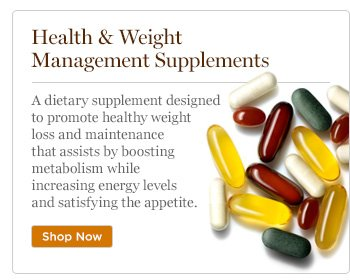 Health and Weight Management Supplements