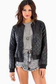 Quilted Bomber Jacket 56