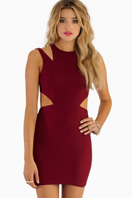 Yours Truly Cut Out Dress 36