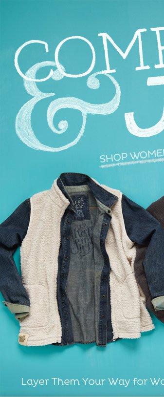 Shop Women's Layering Pieces